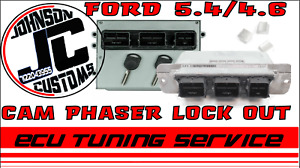 OEM Ford  5.4 / 4.6 Triton VCT VVT Cam phaser Lock Out Flash / Tuning Service