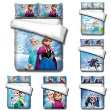 Frozen 2 Elsa Anna 3D Printed Bedding Set 2/3Pcs Duvet Cover & Pillowcase(s) UK2