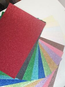 Dovecraft A4 Glitter Premium Cardstock Low Shed 250gsm