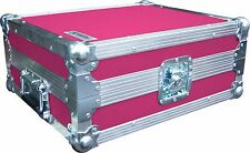 Technics SL1210 Turntable DJ Deck Swan Flight Case (Pink Rigid PVC)