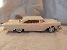"""Vintage 1958 Ford Edsel Dealer Promo Model 8 1/4"""" RARE Pink Color"""