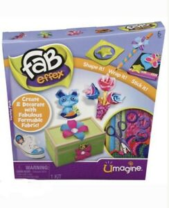 Fab Effex Art Create With Fabulous Formable Fabric Shape Wrap Stick It - New