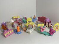 Vintage my little pony G1 mini figurines lot 30, long mane '80s