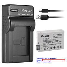 Kastar Battery Slim USB Charger for Canon LP-E8 LC-E8 & Canon EOS 600D Camera