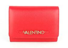 VALENTINO SEA Saffiano Medium Wallet Rosso, Damen-Geldbörse Portemonnaie Wallet