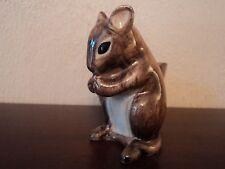 Quail ceramica dipinti a mano/Crafted Mouse Portauovo (ottime condizioni) stupendo.