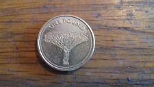 QUEEN OF GIBRALTAR £1 COIN