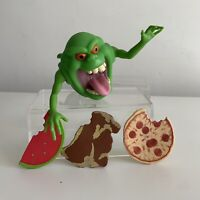 Vintage Real Ghostbusters Slimer Green Ghost Complete Toy Figure Kenner 1986