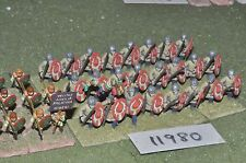 25mm late roman infantry 34 figures (11980)