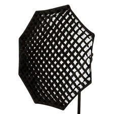 "120 cm 47.2"" Octogonale Softbox 5 cm Honeycomb Grille Octabox Bowens S Type De Raccord"