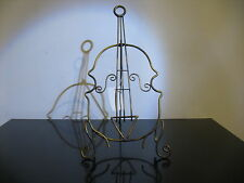 New Wire Violin Viola Bass Cello instrument book Music sheet table stand metal