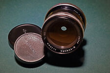 Cine Minty W-Komura 28mm F3.5 Sankyo Japan SONY SUPER-35 Canon FD Cinematic LENS