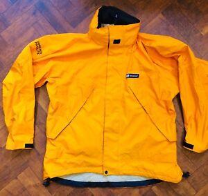 Vintage berghaus paclite gortex jacket coat large