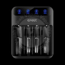 Efest Lush Q4 LED Lithium Ion Vape Battery Charger 20700 26650 18650 16340 14500