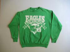 Vintage Philadelphia Eagles Logo Crewneck Sweatshirt Kelly Green