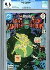 Green Lantern #97 CGC 9.6 White Pages DC Comics 1977