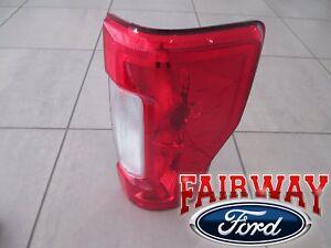 17 thru 19 Super Duty F250 F350 OEM Ford Tail Lamp Light Non-BLIS RH Passenger