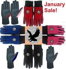 Pair of Winter Golf Gloves Glove Black,Red,Pink,Blue - BEST Quality & VERY WARM!