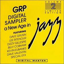 GRP DIGITAL SAMPLER A NEW AGE IN JAZZ VOLUME 2, 1985 CD Grusin, Ritenour, Gille.