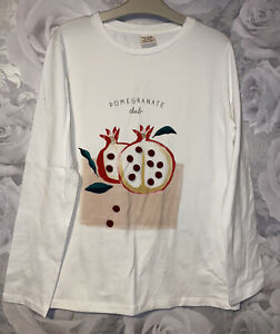 Girls Age 13-14 Years - Zara Long Sleeved Top - Excellent Condition