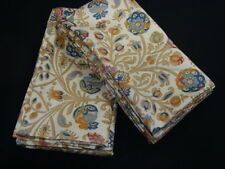 2 Standard Pillowcases Set two mw Ralph Lauren MARRAKESH PAISLEY beige fabric