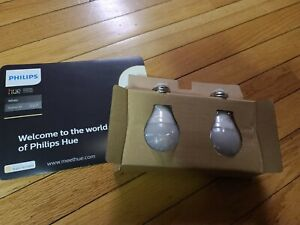 * Philips Hue White   Equivalent Dimmable LED Smart Bulbs