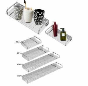 Fixed steel bathroom kitchen storage shower shelf wall mounted storage shelves s