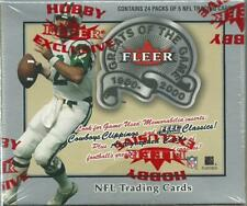 2000 Greats of The Game 1900-2000 Football Factory Sealed Hobby Box