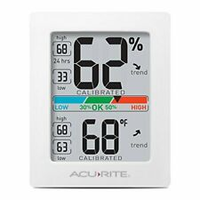 AcuRite 01083 Indoor Thermometer & Hygrometer with Humidity Gauge & Pro Accuracy