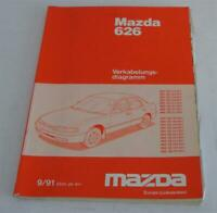 Workshop Manual Mazda 626 MS6 Ge Electric/ Schematics, Stand 09/1991