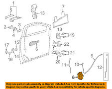 Cadillac GM OEM 10-16 SRX Front Door-Latch Right 13579489