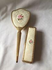 English Bone China Vanity Set 1940-60 Bone China 2 Pieces