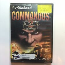 Commandos 2 Men of Courage PS2 Sony PlayStation 2 Video Game Tested Ships Fast