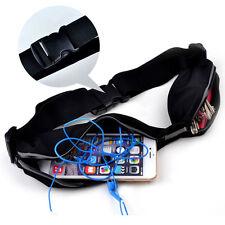 Running Jogging Sports Gym Waist Belt Soft Bag Case Cover Strap For Mobile Phone