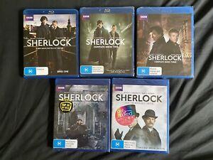 Sherlock (BBC) Complete Series Bluray