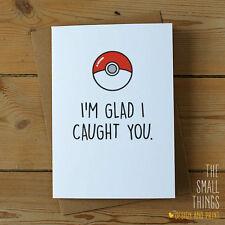 Pokemon Go Birthday Anniversary Greetings Card Funny Rude Joke For Him For Her