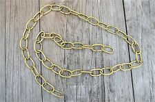 1 METRE LENGTH OF AGED BRASS CHAIN LIGHT CHANDELIER HANGING CHAIN SLC1