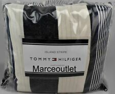 Tommy Hilfiger Island Stripe King Duvet Cover & Shams Set Navy