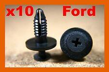 10 Ford door card fascia bump strip bumper fender trim panel fastener clips