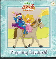 SESAME STREET Elmo's Learning Adventure {Rhyming Rapunzel} #7 VG