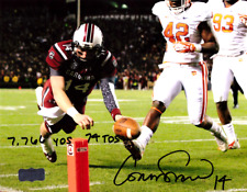 Connor Shaw Signed South Carolina Gamecocks 8x10 Ncaa Photo - Career Stats