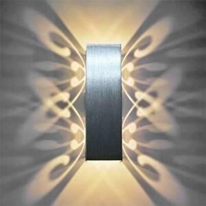 6W LED Wandleuchte Wandlampe Schmetterling Effektlampe Flurleuchte mit Modern DE