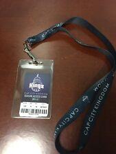 2011-2012 Sacramento Kings Season Ticket Holder Lanyard with Access Card