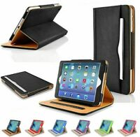iPad Pro 11 Case Soft Leather Wallet Magnetic Smart Cover Folio Stand for Apple