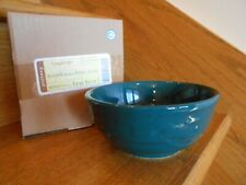 Longaberger Teal Blue Soup & Salad Bowl 16 ounce handy nib *shipping included!*