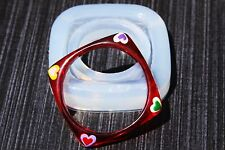 Clear Silicone Bangle Bracelet molds for Women's, Medium Sized 65mm. (A02)