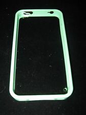 Bumper Hard Case for iPhone 4 4s Green Bumper Case with Clear backing