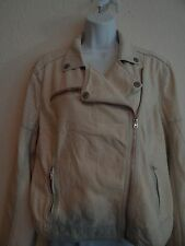 Aeropostale Womens Light Wash Cotton Denim Long Sleeve Jacket Size XL