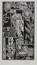 Ignatz Hefele - Sehr schöner Original-Linolschnitt, handsigniert