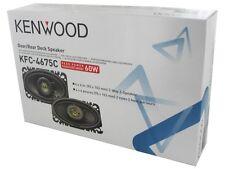 "New KENWOOD KFC-4675C 4"" x 6"" 2-Way 60 Watts Car Audio Speakers (Pair)"
